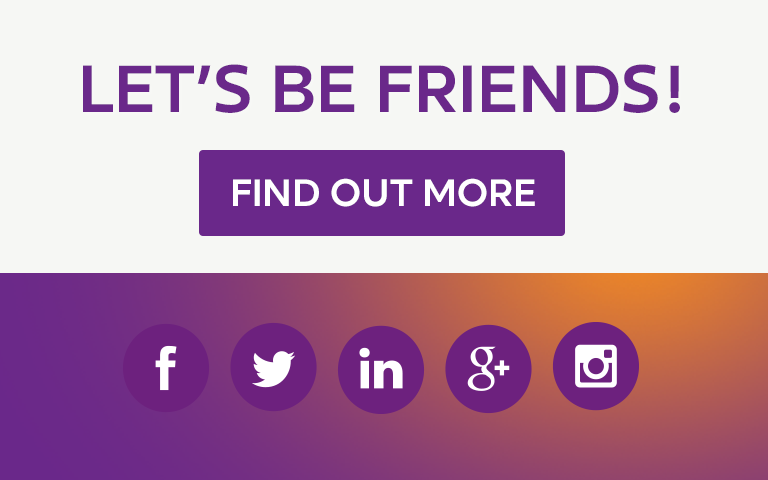 Let's Be Friends! Like us, follow us and share - Find out more