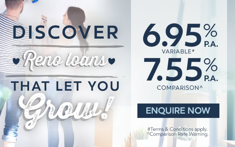Discover reno loans that let you grow!