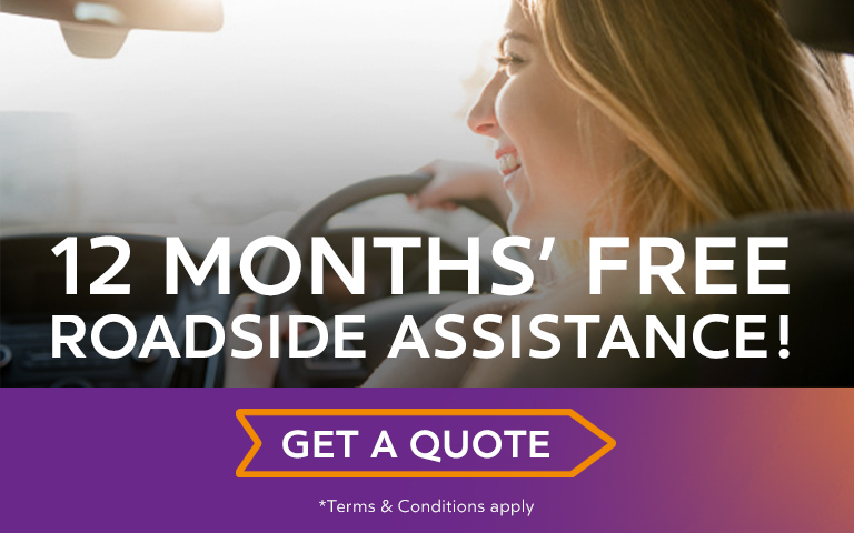 12 Months' Free Roadside Assistance