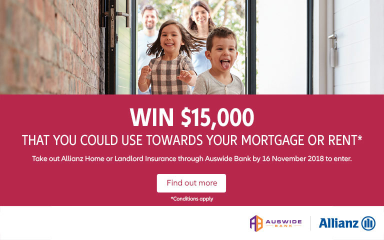 Win $15,000 that you could use towards your mortgage or rent*