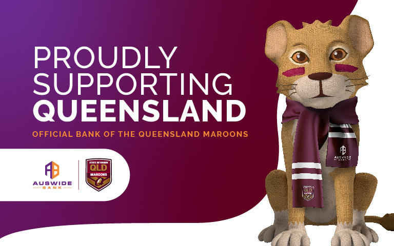 Proudly Supporting Queensland - Official Bank of the Queensland Maroons